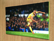 ANDROS Townsend CRYSTAL PALACE FC Football 12X8 Firmato a Mano Foto Autografo