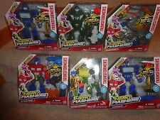 TRANSFORMERS LOT OF 6 HERO MASHER SETS, ALL UNOPENED