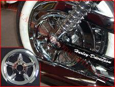 COVER COPRI PULEGGIA HARLEY DAVIDSON SPORTSTER 2004 UP CROMATO MOTO CUSTOM