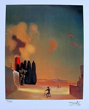 Salvador Dali ENIGMATIC ELEMENTS Facsimile Signed Limited Edition Giclee