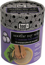 Hoof 12 Piece Lavender Scent Foot Soaks - Soothes Tired Feet & Softens Skin