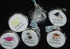 108 Graduation ~ Kiss Kisses Candy Wrappers Labels Party Favors ~ Personalized