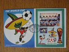 07/05/1986 World Cup Postal Cover: CC 1010 - Pique Mascot - Stamp: Argentina (Fi