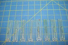 8 FOUR PRONG 3'' PINCH PLEAT DRAPERY HOOKS  EXCELLENT CONDITION.