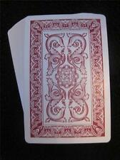 "VINTAGE 1980's ""ACE PLAYING CARD CO"" PLAYING CARDS - ACANTHUS LEAVES"