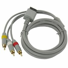 New High Quality Composite AV Cable for Nintendo Wii or Wii U