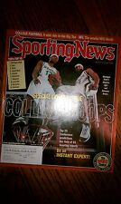 The Sporting News Maurice Ager #13 Shannon Brown #3 Michigan State Spartans NCAA