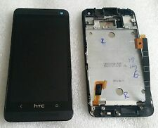 LCD Touchscreen Display Digitizer Komplett Glas mit Rahmen HTC ONE M7 Dual 802w