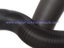 Kaminofen Flexrohr 100mm grau - 30cm - Frischluftanschluss - Aluflexrohr
