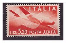 POSTA AEREA DEMOCRATICA  1946  - LIRE 3,20  NUOVO **