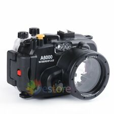Meikon 40m 130ft Waterproof Housing Case For Sony A6000 16-50mm Lens Camera