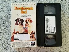 Beethoven's 2nd Charles Grodin VHS Video Tape