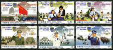 Hong Kong 1098-1103, MNH. People's Liberation Army Forces of Hong Kong, 2004