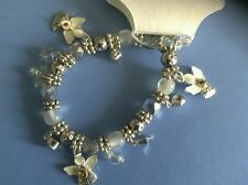 Silver Stretch Charm Bracklet