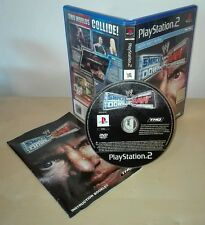 SMACK DOWN VS RAW ps2 gioco game Sony PlayStation prima stampa wrestling wwe