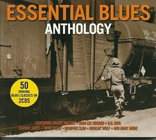 ESSENTIAL BLUES ANTHOLOGY - 2 CD BOX SET - MUDDY WATERS & MORE