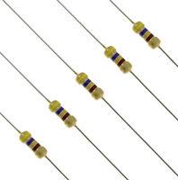 1/4W 0.25W Carbon Film Resistor ±5% 1K Ohm to 4.7M Ohm