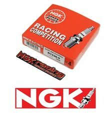 X4 NGK COMPETITION RACING SPARK PLUGS HEAT RANGE 11.5 FOR MAZDA ROTARY + EMBLEM