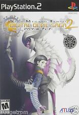 Shin Megami Tensei Digital Devil Saga 2 PlayStation 2 Brand New Factory Sealed
