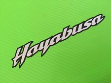 Hayabusa 2-colour Decals stickers for Road Bike or fairing PAIR #129