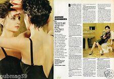 Coupure de Presse Clipping 1996 (4 pages) Anouk Grinberg