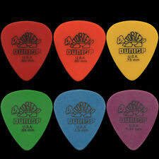 12 Dunlop Tortex Standard Guitar Picks Any Combination - Choose Your Size