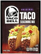 Taco Bell Original Taco Seasoning Mix - Free Combined Shipping