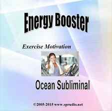 Energy Booster, Exercise Motivation Ocean Subliminal Audio CD