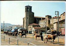 CP 43 Haute-Loire - Langeac - Le marché aux veaux