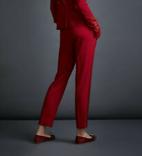 A LA RUSSE ANASTASIA ROMANTSOVA $1,240 red tuxedo trousers tux pants 42/10 NEW