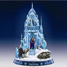 Ice Palace of Elsa Figurine Frozen The Hamilton Collection - Disney