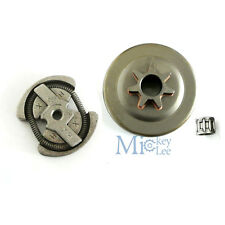 Clutch Drum Assy & Bearing Fit HUSQVARNA 36 41 136 137 141 142 Chainsaw Parts