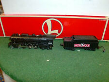 LIONEL TRAINS NO. 52189 MONOPOLY HUDSON 4-6-4 STEAM LOCOMOTIVE & TENDER 1999