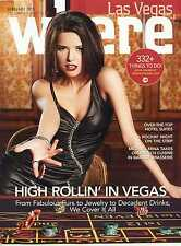 WHERE Las Vegas Magazine High Rollin' in Vegas! Mint Issue!
