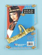 Adult Cleopatra Gold Sequin ASP Headpiece Egyptian Headband Costume Accessory