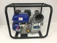 3inch Powerful Portable Water Pump 6.5 HP GAS ENGINE Runs Great 263 GPM