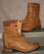 NEW TIMBERLAND WOMEN's WHITTEMORE WOOL ACCENT LACE-UP BOOTS US 9