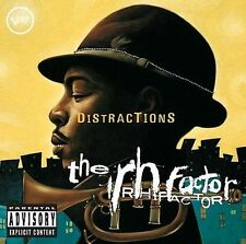 The RH Factor Distractions Hip Funky Jazz CD (2006, Verve)