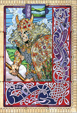 CELTIC IRISH ART PRINT Streng Champion of the Fir Bolg 16x11 By Jim FitzPatrick