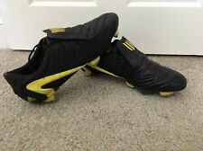 Adidas F50 Original SG Black/Yellow Rare Vintage Football Boots - UK 10