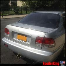Rear Trunk Lip Spoiler Wing (Fits: Honda Civic 1996-00 4dr) SpoilerKing