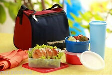 Tupperware Best Lunch -5 Piece Set, Comes with Life Time Guarantee,Insulated Bag