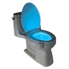 Led Toilette Automatique Siège d'éclairage salle de bain lampe sensor motion Hot