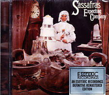 SASSAFRAS expecting company (1973) Remastered + 2 bonus tr. Esoteric CD NEU OVP