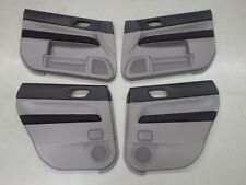 Subaru Forester SG9 STi 2004 Interior Door Card Panel Trim Set #1