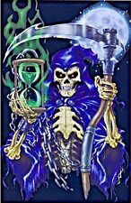 Time Of Death Grim Reaper Gothic Blacklight Art Print Poster 23x35 FREE S&H NEW