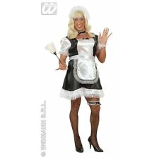 XL Ladies Womens Male French Maid Costume Outfit for Transgender Transvestite Cr