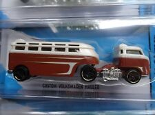 1/64 Hot wheels 2015 Track Stars Custom Volkswagen VW Hauler Brown