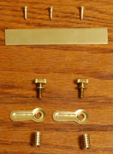 Retaining brass hardware for adapter lens board board for DIY project