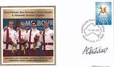 2006 Melbourne Commonwealth Games Benham FDC - Milwain,Davenport,Burnett,Scotche